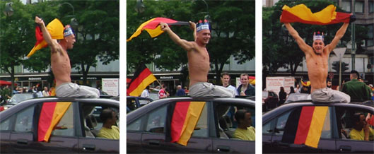 World Cup Celebrations in Berlin