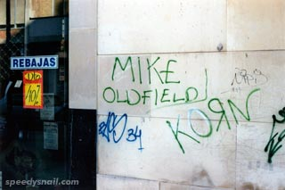 Mike Oldfield Graffiti