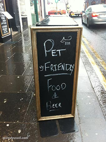 Pet Friendly Food & Beer