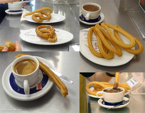 Churros at El Brillante
