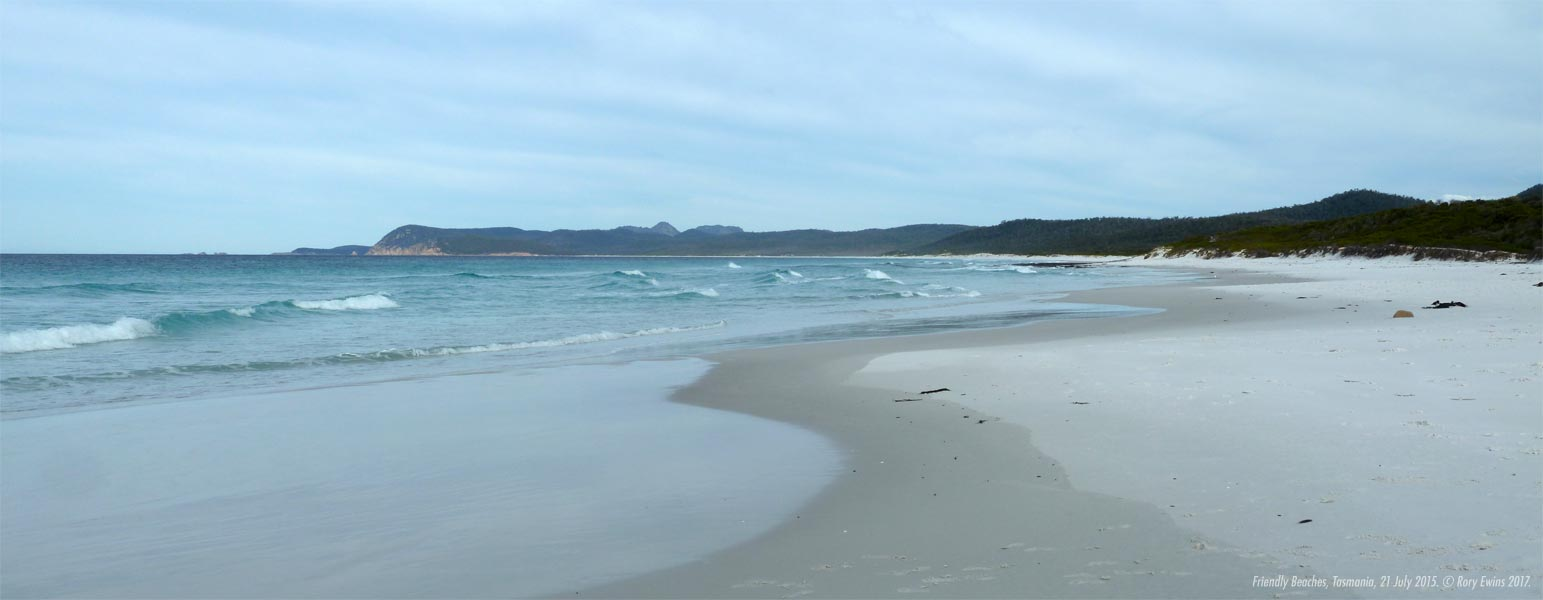 Friendly Beaches, Tasmania